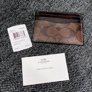 Coach Men's cardholder